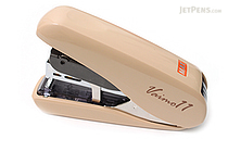 Max Vaimo 11 Style Stapler - 40 Sheets Max - Cafe Au Lait Light Brown - MAX HD-11FLSK-BJ