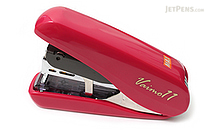 Max Vaimo 11 Style Stapler - 40 Sheets Max - Cherry Red - MAX HD-11FLSK-R