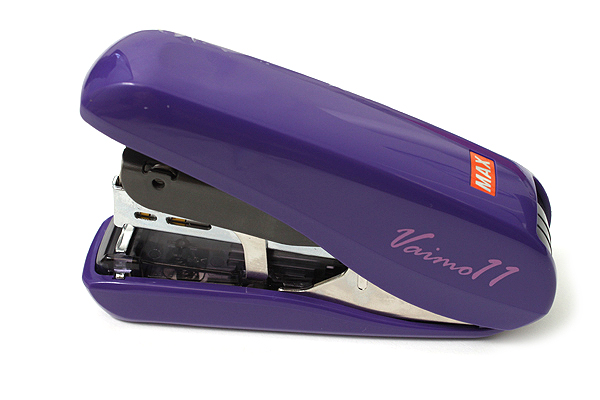 Max Vaimo 11 Style Stapler - 40 Sheets Max - Plum Purple - MAX HD-11FLSK-V