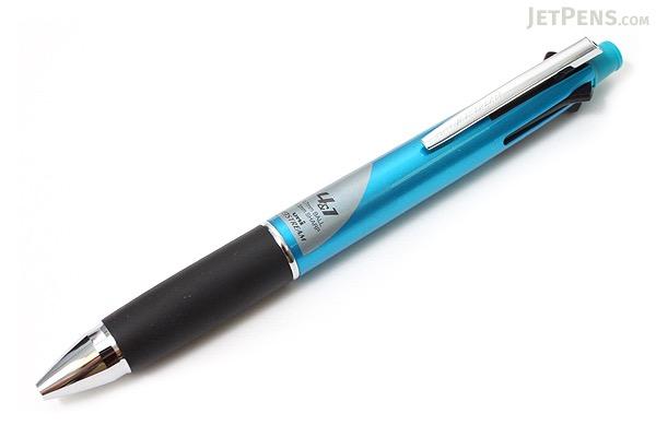 Uni Jetstream 4&1 4 Color 0.7 mm Ballpoint Multi Pen + 0.5 mm Pencil - Light Blue Body - UNI MSXE510007.8
