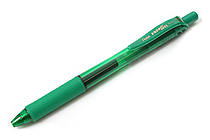 Pentel EnerGel X Metal-Tip Retractable Gel Pen - 0.7 mm - Green - PENTEL BL107-D