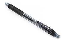 Pentel EnerGel X Needle-Point Retractable Gel Pen - 0.5 mm - Black - PENTEL BLN105-A