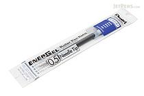 Pentel EnerGel LRN5 Needle-Point Gel Pen Refill - 0.5 mm - Blue - PENTEL LRN5-C