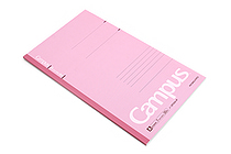 Kokuyo Campus Notebook - Slim B5 - 7 mm Rule - Pink - KOKUYO NO-3PAN-P