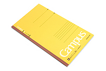 Kokuyo Campus Notebook - Slim B5 - 7 mm Rule - Yellow - KOKUYO NO-3PAN-Y