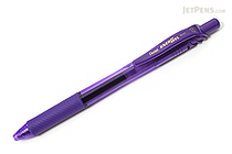 Pentel EnerGel X Metal-Tip Retractable Gel Pen - 0.7 mm - Violet - PENTEL BL107-V
