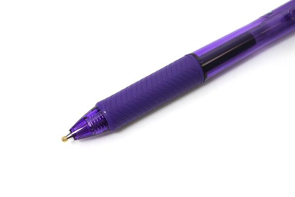 Pentel EnerGel X Metal-Tip Retractable Gel Pen - 0.7 mm - Violet - PENTEL BL107-V