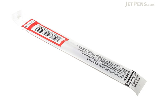 Pentel EnerGel LRN5 Needle-Point Gel Pen Refill - 0.5 mm - Red - PENTEL LRN5-B