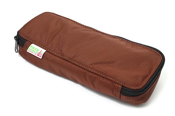 Nomadic PN-91 Top Open Pencil Case - Brown - NOMADIC EPN 91 BROWN