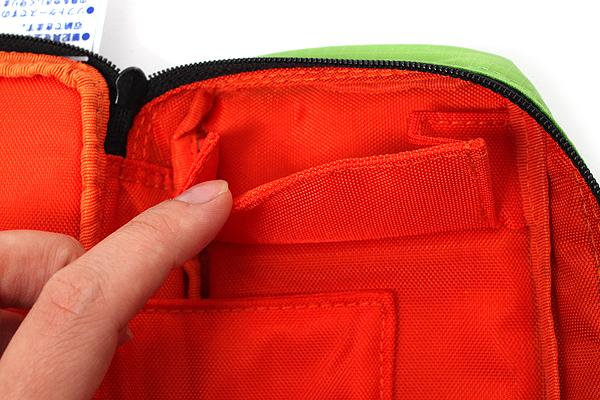 Nomadic PN-91 Top Open Pencil Case - Light Green - NOMADIC EPN 91 L.GREEN