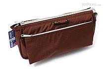 Nomadic PE-09 Flap Type Pencil Case - Brown - NOMADIC EPE 09 BROWN