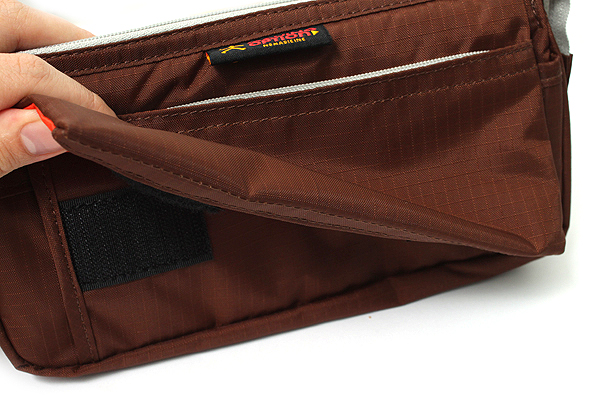 Nomadic PE-09 Flap Type Pencil Case - Brown - NOMADIC EPE 09 BROWN