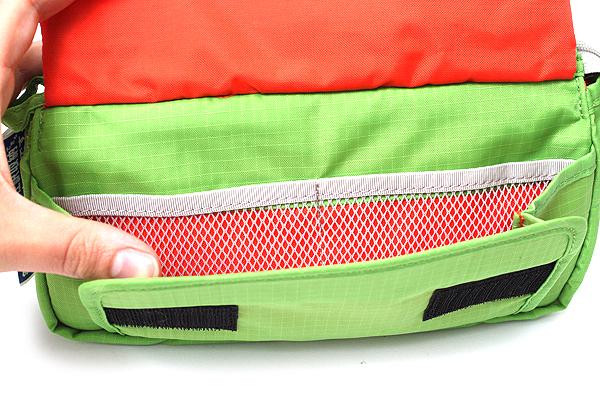 Nomadic PE-09 Flap Type Pencil Case - Light Green - NOMADIC EPE 19 L.GREEN