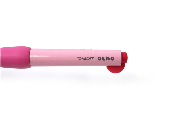 Tombow Olno Body Knock Mechanical Pencil - 0.5 mm - Berry Pink - TOMBOW SH-OL81