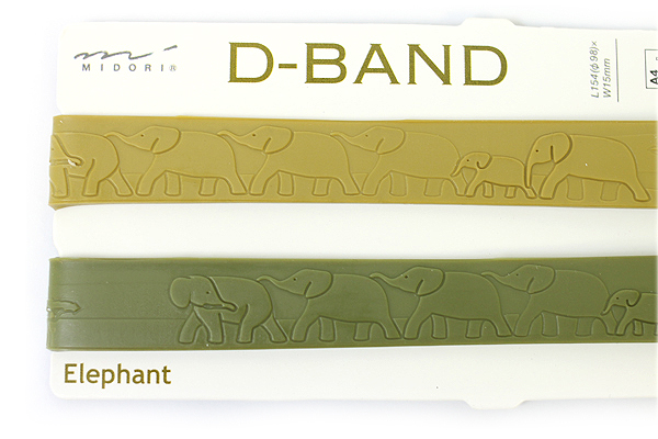 Midori Book D-Band - Elephant - Set of 2 - MIDORI 230862