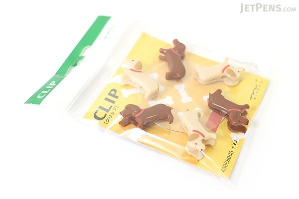 Midori Clip - Dog - Pack of 6 - MIDORI 230162