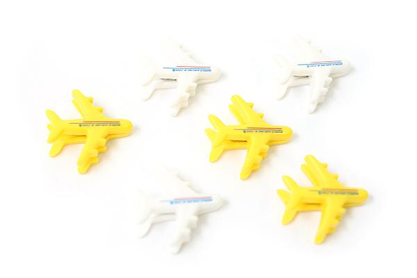Midori Clip - Plane - Pack of 6 - MIDORI 230158