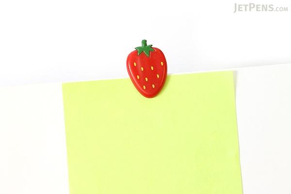 Midori Clip - Strawberry - Pack of 6 - MIDORI 230155