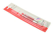 Parker Gel Pen Refill - Medium Point - Red - Pack of 2 - SANFORD 30529