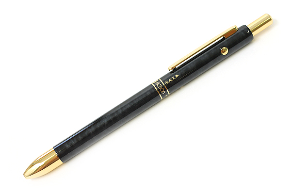 Platinum MWB-2000C 2 Color 0.7 mm Ballpoint Multi Pen + 0.5 mm Pencil - Black Marble Body - PLATINUM MWB-2000C 1