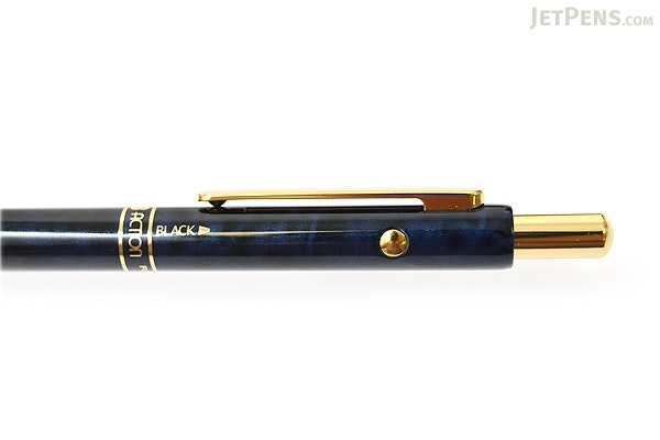 Platinum MWB-2000C 2 Color 0.7 mm Ballpoint Multi Pen + 0.5 mm Pencil - Blue Marble Body - PLATINUM MWB-2000C 56