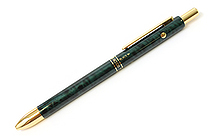 Platinum MWB-2000C 2 Color 0.7 mm Ballpoint Multi Pen + 0.5 mm Pencil - Green Marble Body - PLATINUM MWB-2000C 41