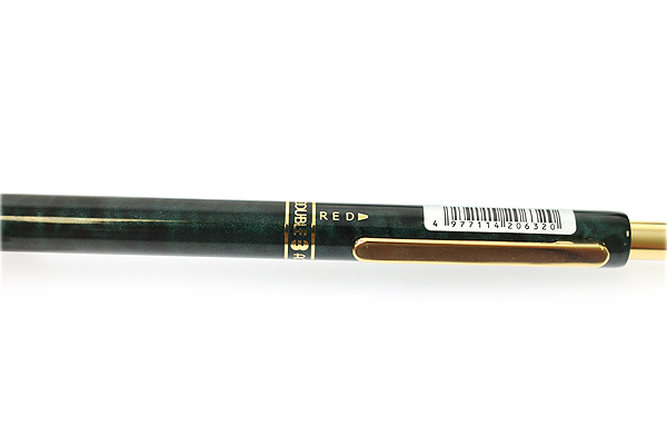 Platinum MWB-2000C 2 Color 0.7 mm Ballpoint Multi Pen + 0.5 mm Pencil - Green Marble Body - PLATINUM MWB-2000C 41