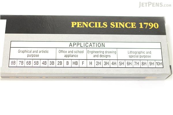 Koh-I-Noor Toison D'or Graphite Wooden Pencil - 3H - Pack of 12 - KOH-I-NOOR FA1900.3H