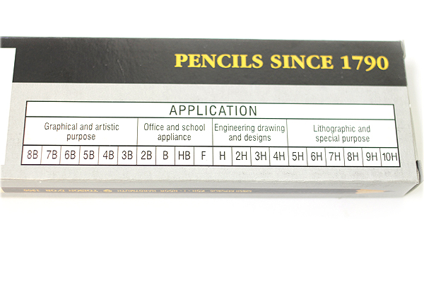 Koh-I-Noor Toison D'or Graphite Wooden Pencil - 4H - Pack of 12 - KOH-I-NOOR FA1900.4H
