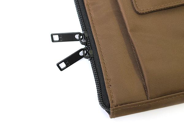 Lihit Lab Teffa Bag in Bag - A5 - Brown - LIHIT LAB A-7553-9