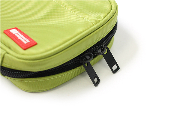 Lihit Lab Teffa Pen Case - Book Style - Yellow Green - LIHIT LAB A-7551-6