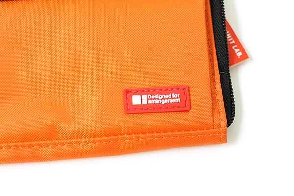 Lihit Lab Teffa Bag in Bag - A5 - Orange - LIHIT LAB A-7553-4