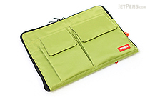 Lihit Lab Teffa Bag in Bag - A5 - Yellow Green - LIHIT LAB A-7553-6