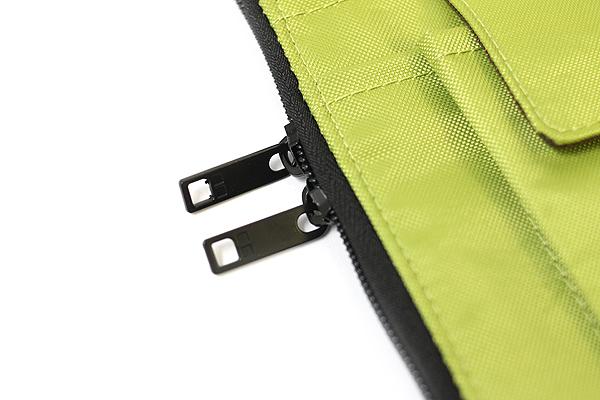 Lihit Lab Teffa Bag in Bag - A5 - Yellow Green - LIHIT LAB A-7553-6