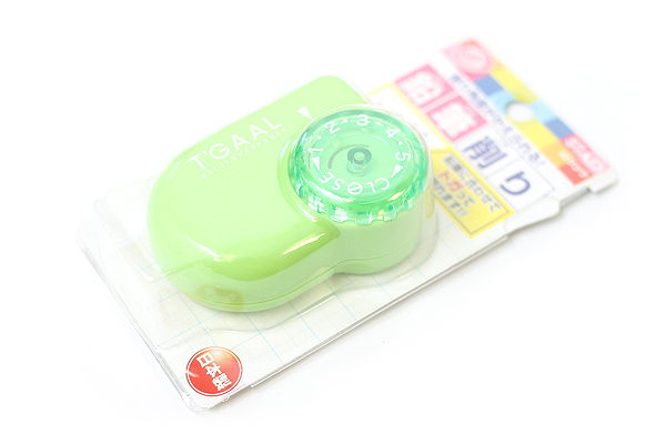 Kutsuwa Stad T'Gaal Pencil Sharpener - Green - KUTSUWA RS017GR