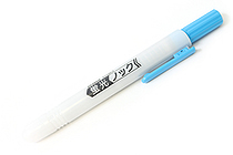 Zebra Knock Highlighter Pen - Blue - ZEBRA WKS10-BL