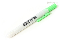 Zebra Knock Highlighter Pen - Green - ZEBRA WKS10-G