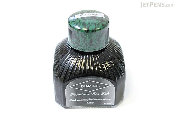 Diamine Blue Black Ink - 80 ml Bottle - DIAMINE INK 7001