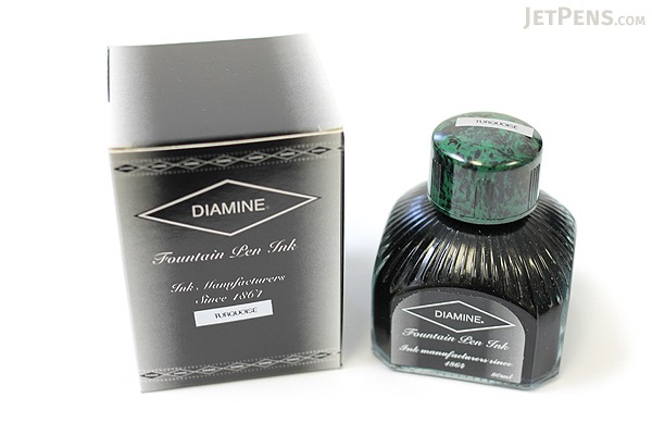 Diamine Turquoise Ink - 80 ml Bottle - DIAMINE INK 7003