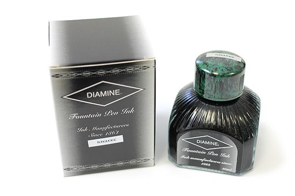 Diamine Fountain Pen Ink - 80 ml - Turquoise - DIAMINE INK 7003