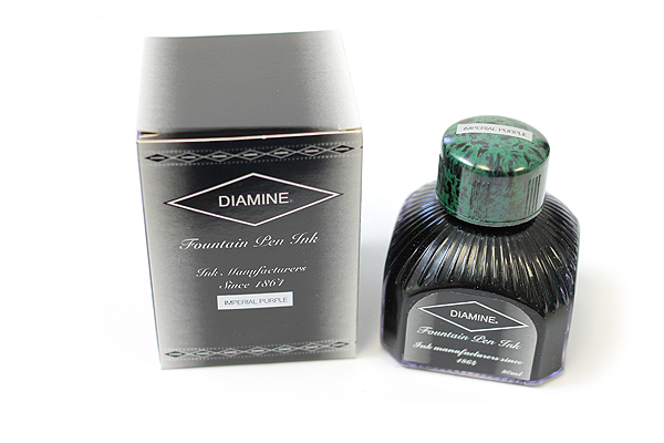 Diamine Fountain Pen Ink - 80 ml - Imperial Purple - DIAMINE INK 7005