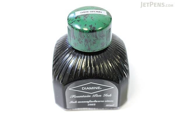 Diamine Dark Brown Ink - 80 ml Bottle - DIAMINE INK 7007