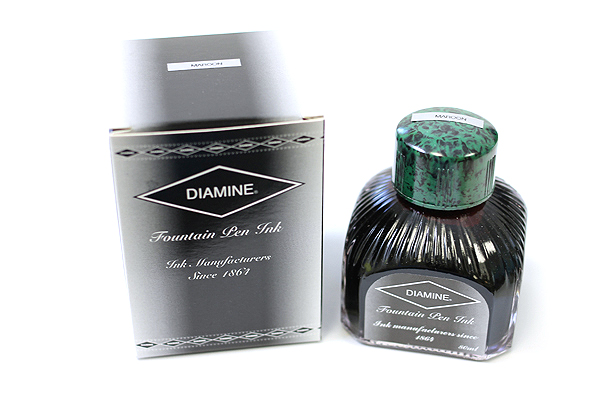 Diamine Fountain Pen Ink - 80 ml - Maroon - DIAMINE INK 7008