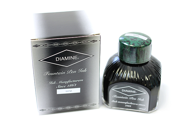 Diamine Fountain Pen Ink - 80 ml - Sepia - DIAMINE INK 7013
