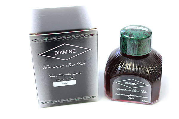 Diamine Fountain Pen Ink - 80 ml - Pink - DIAMINE INK 7016