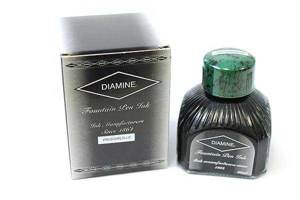 Diamine Fountain Pen Ink - 80 ml - Prussian Blue - DIAMINE INK 7018