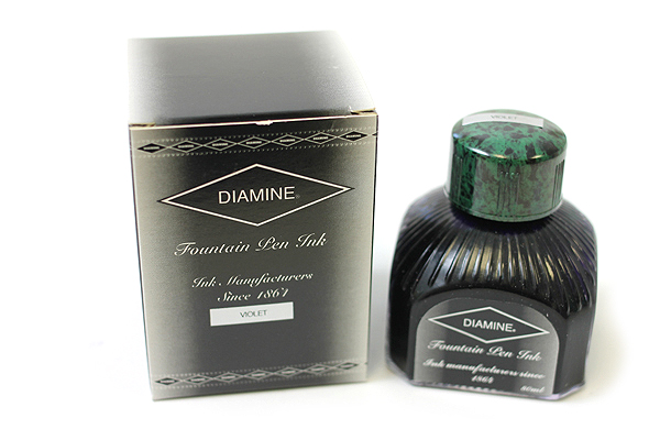Diamine Fountain Pen Ink - 80 ml - Violet - DIAMINE INK 7019