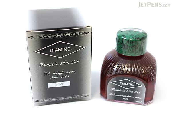 Diamine Cerise Ink - 80 ml Bottle - DIAMINE INK 7025