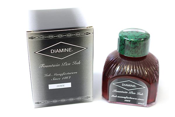 Diamine Fountain Pen Ink - 80 ml - Cerise (Pink) - DIAMINE INK 7025