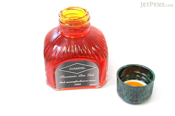 Diamine Sunshine Yellow Ink - 80 ml Bottle - DIAMINE INK 7027